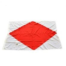 Signalflagga från båt - marina signalflaggor