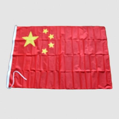 Kina skeppsflagg - flagga på fartyg