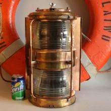 Lampa koppar från fartyget - koppar inredning online
