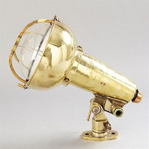Vintage marine searchlight - Tower lamp